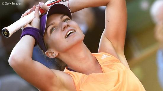 Simona Halep rises to world  No 3