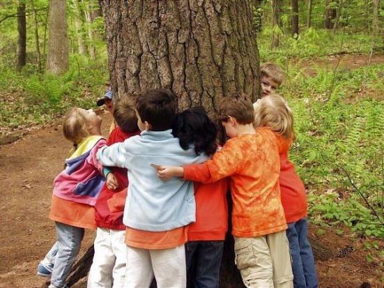 copiii si stejarul